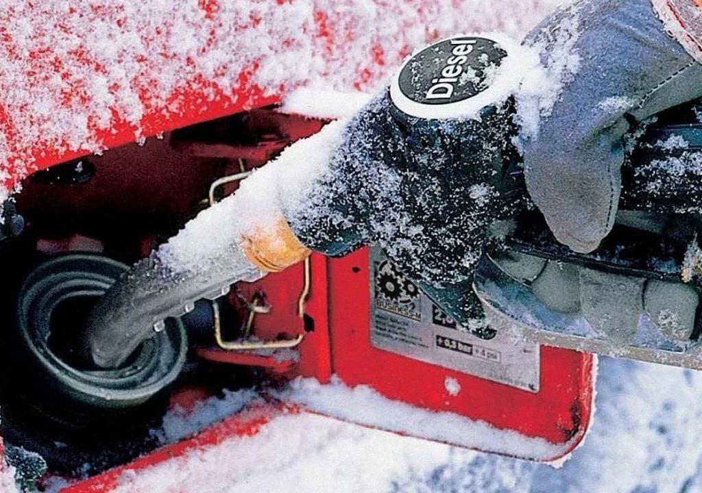 Зимнее дизельное топливо